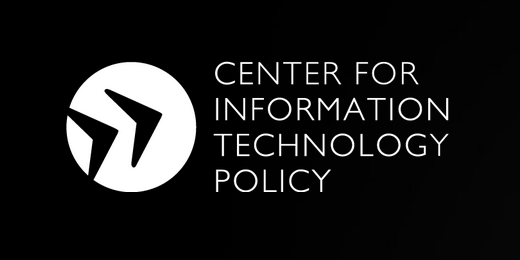 Logo for the Center for Information Technology Policy (CITP)