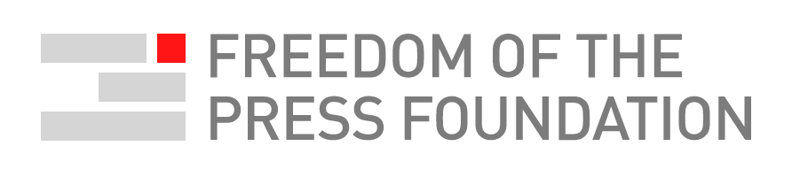 Logo for the Freedom of the Press Foundation