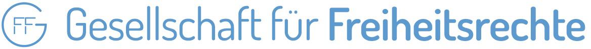 Logo for Freiheitsrechte.