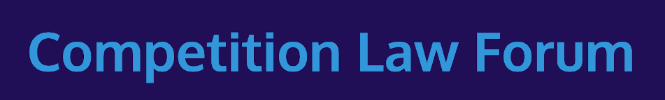 Logo for Competition Law Forum.