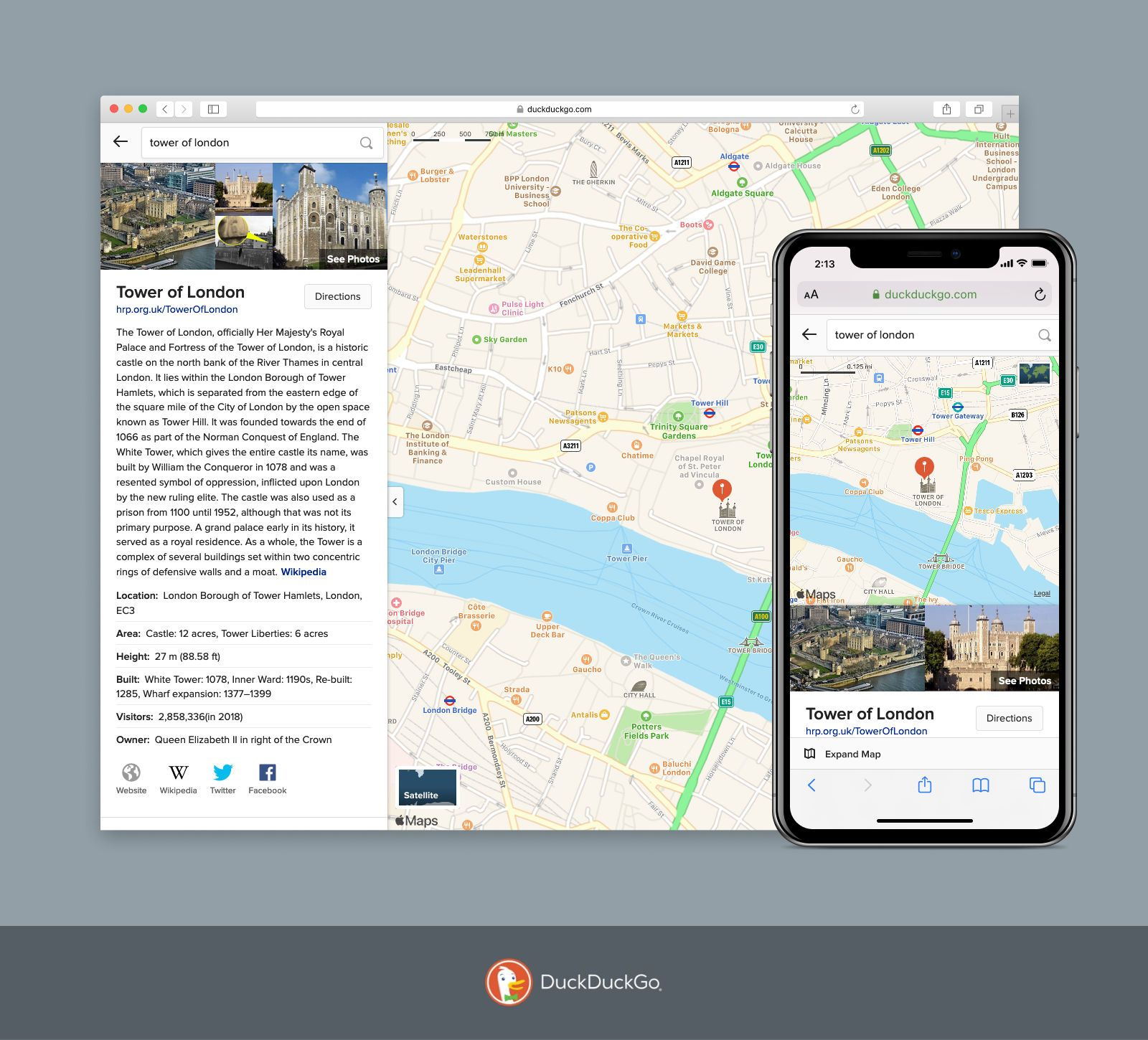 Plan Your Route Privately: DuckDuckGo Now Has Driving & Walking Directions