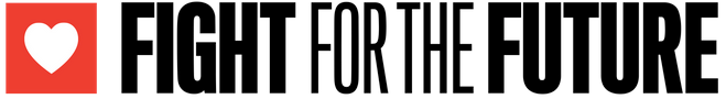 Logo for Fight for the Future.